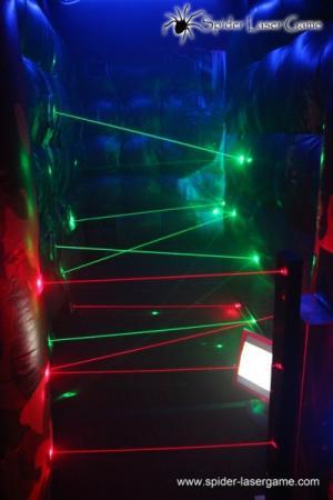 Laserworld stellt neues, mobiles Laser-Game vor