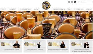 Drum Cafe präsentiert neue Website