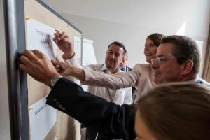 DOMSET setzt Jahresmeeting des German Convention Bureaus um - Hohe Effizienz durch strategisches Meeting Design