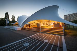 Opera-Tent baut Ausstellungszelt für Siemens Energiewende - Dialog 2013
