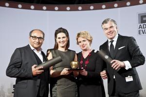 lemonpie und FR Catering gewinnen Gold in der Kategorie Bestes Event-Catering anlässlich der FAMAB ADAM & EVA AWARDs 2013!