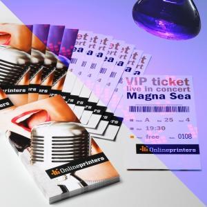 Schutz vor Ticket-Fälschern mit Sicherheitsfarbe