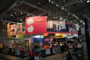 GEMCO beleuchtet Messestand der Stuttgart-Marketing GmbH