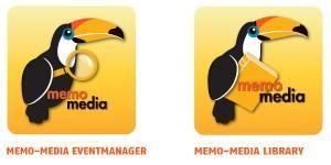 Jetzt kostenlos für Ihre Veranstaltungsplanung downloaden:  Die memo-media Eventmanager-App und die memo-media Library-App für iOS und Android!