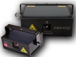 Laserworld Tochter RTI präsentiert neue Dioden Technologie in ATTO und FEMTO Serie