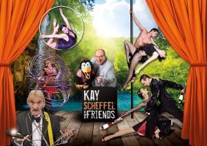 Die neue Show im Varieté et cetera:  Kay Scheffel & Friends!
