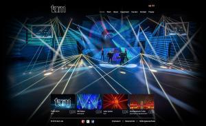 tarm Showlaser GmbH mit neuer Homepage
