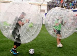 Bumper Loopy Balls mieten für Ihr Bubble Fussball Event