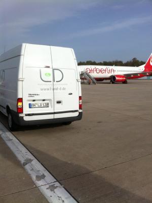 Erster L & D-Betrieb auf dem Rollfeld des Airport KölnBonn eröffnet