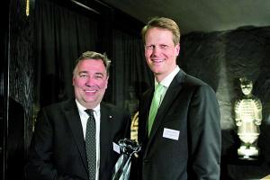 Broich wird mit begehrtem Business Diamond Award ausgezeichnet