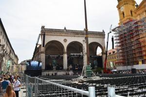 Azubis am Odeonsplatz