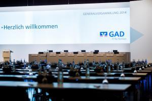 satis&fy betreut alle Gewerke der GAD Generalversammlung 2014