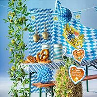 Deko-Spezialist Woerner: Launige Oktoberfest-Dekoration