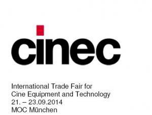 cinec 2014 verbindet im Jubiläumsjahr mehr denn je Professionalität und Innovation