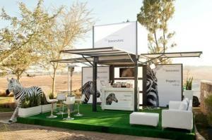 modulbox für Scan Display auf der Home Design Expo