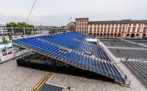 Infrastruktur im Mannheimer Barockschloss