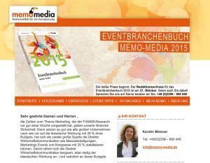 memoLetter 09.2014