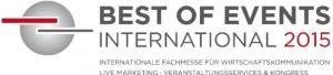 Beste Vorzeichen für Best of Events International 2015: Starke Ausstellerresonanz und hochkarätiges Rahmenprogramm