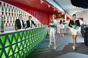Heineken geht mit Pop-up City Lounge auf Roadshow