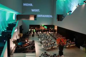 Firmenevent für B+D/Live im neuen LWL-Museum in Münster