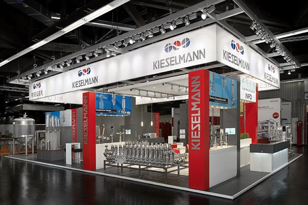 Neue Markeninszenierung von KIESELMANN auf der Brau Beviale 2014