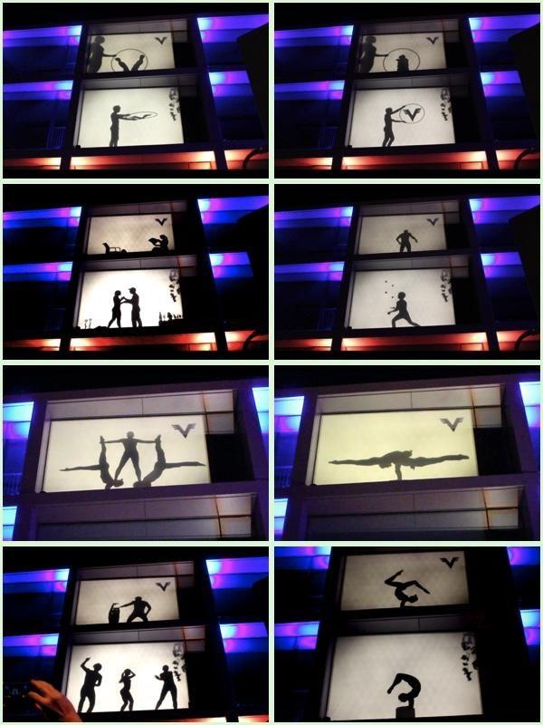 Cosmic Artists Schattenshows