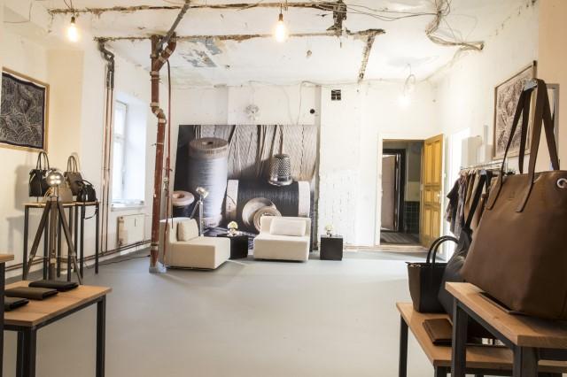 Designinterieur für Showroom von BASLER Fashion