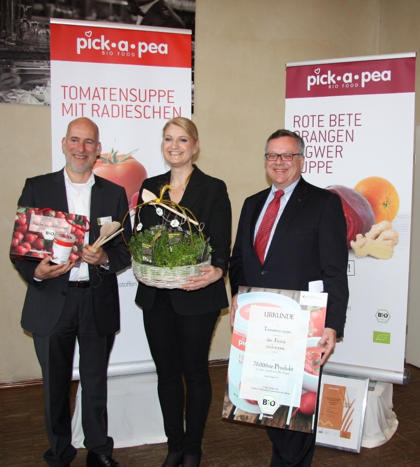 Bundesanstalt für Landwirtschaft und Ernährung ehrt PICK-A-PEA