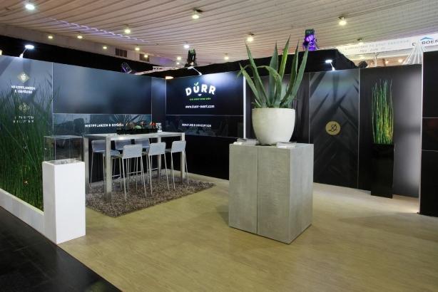 Werkzeugfreier Longlife-Messestand: Party Rent stellt modulares Messesystem 'Matrix' vor