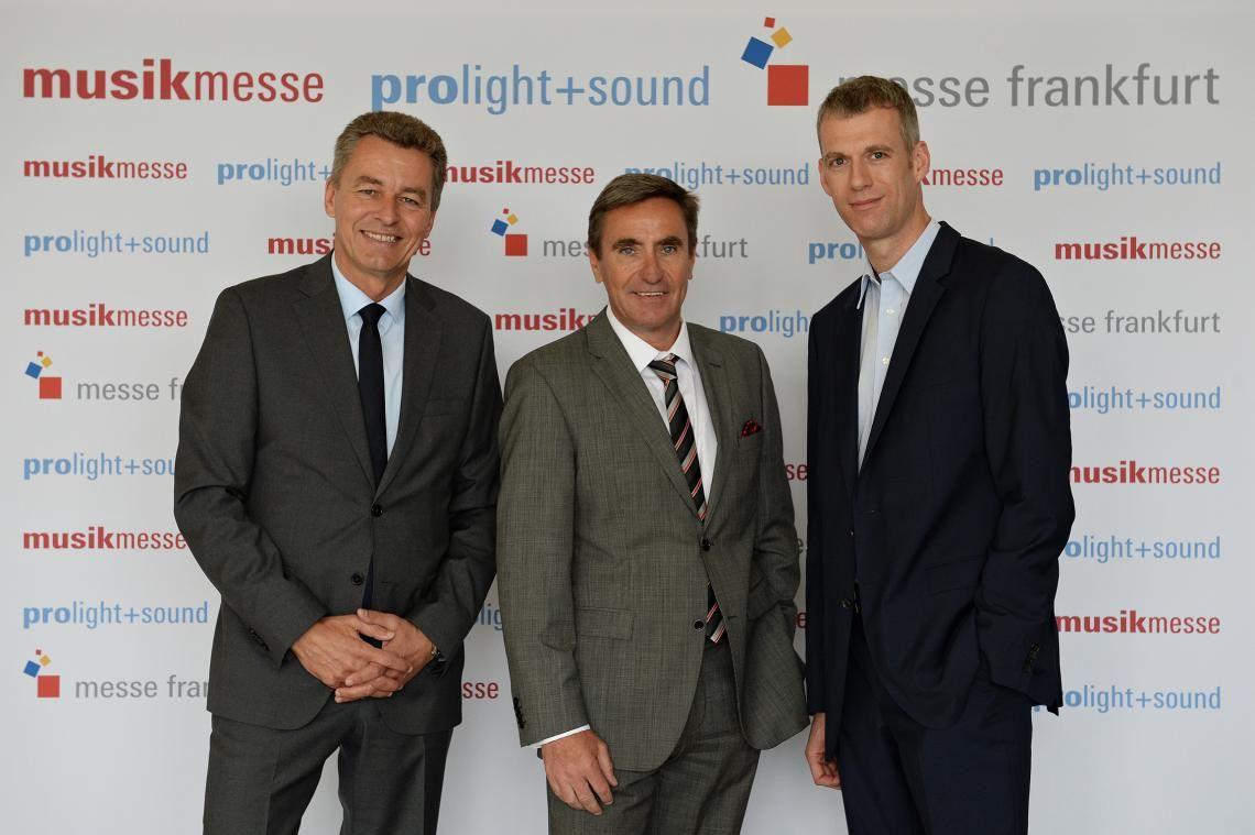 Messe Frankfurt sichert Zukunftsfähigkeit der Musikmesse und Prolight + Sound mit neuem Messekonzept ab 2016