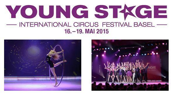YOUNG STAGE – International Circus Festival Basel präsentiert das Teilnehmerfeld