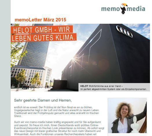 memoLetter 03.2015