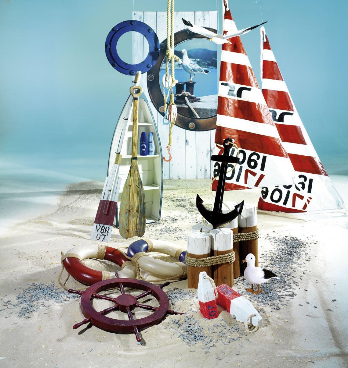Deko Spezialist Woerner - Meeresblaue Inspirationen