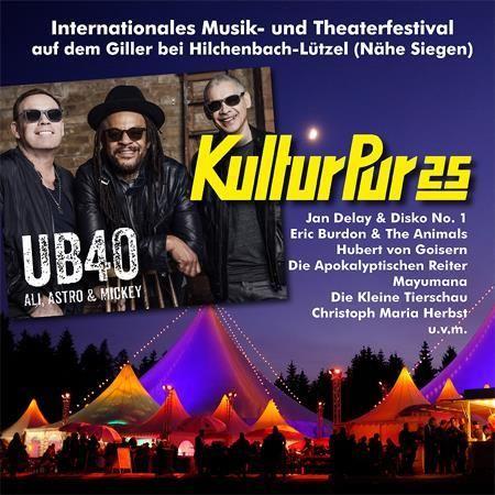 Kultur PurFestival mit Headliner UB40 feat. Ali Campbell, Mickey Virtue & Astro