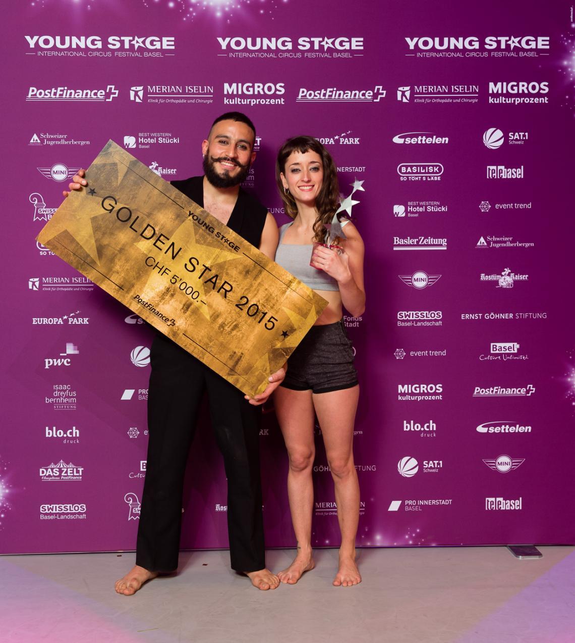 YOUNG STAGE 2015 - Die Gewinner