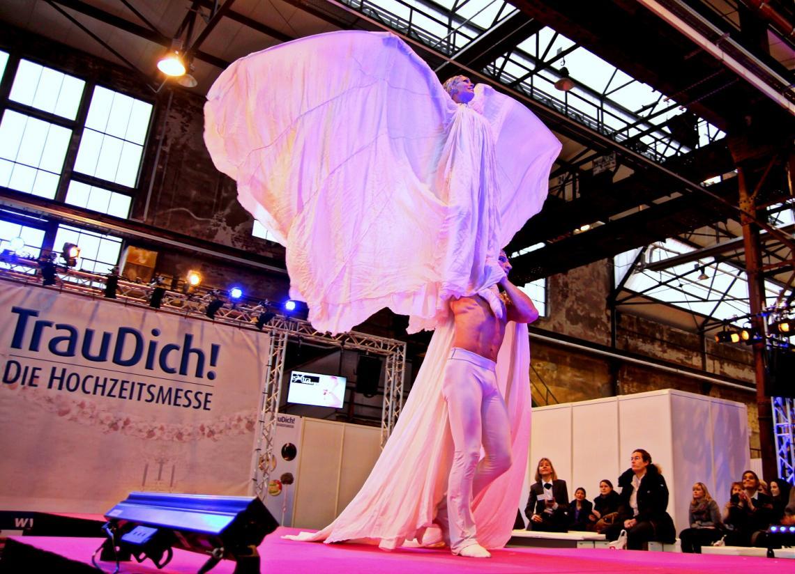 Eventtechnik für TrauDich! Messe Düsseldorf 2015