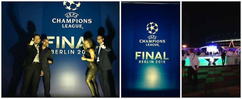 NiteCrawlers live beim Champions League Finale 2015 Berlin