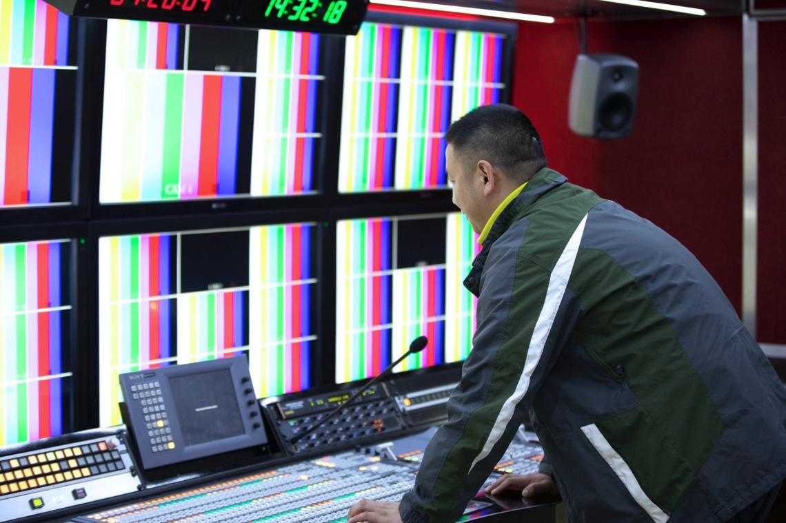 JSTV setzt sich bei Chinas erstem 4K Ü-Wagen auf Riedel