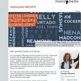 memoLetter 05.2015