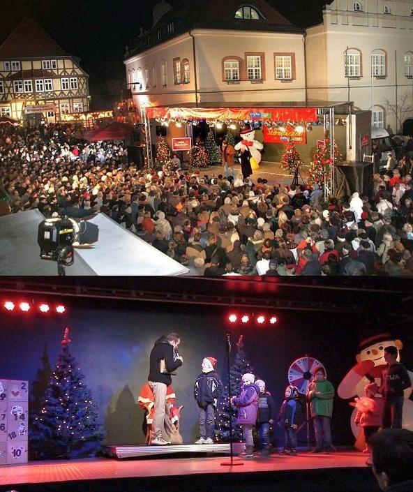 Weihnachtsprogramm oder Weihnachtspromotion mit SHOWTRUCK-ON-TOUR