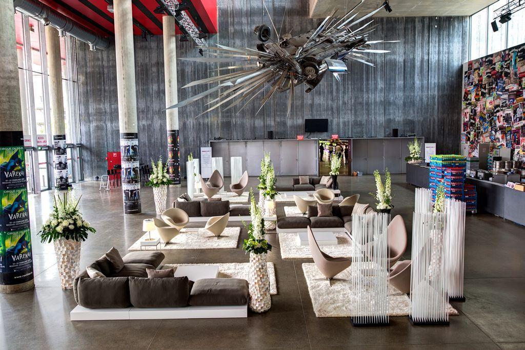 Corporate Event in der luxemburgischen Rockhal - Afterwork-Event für 2.100 Gäste