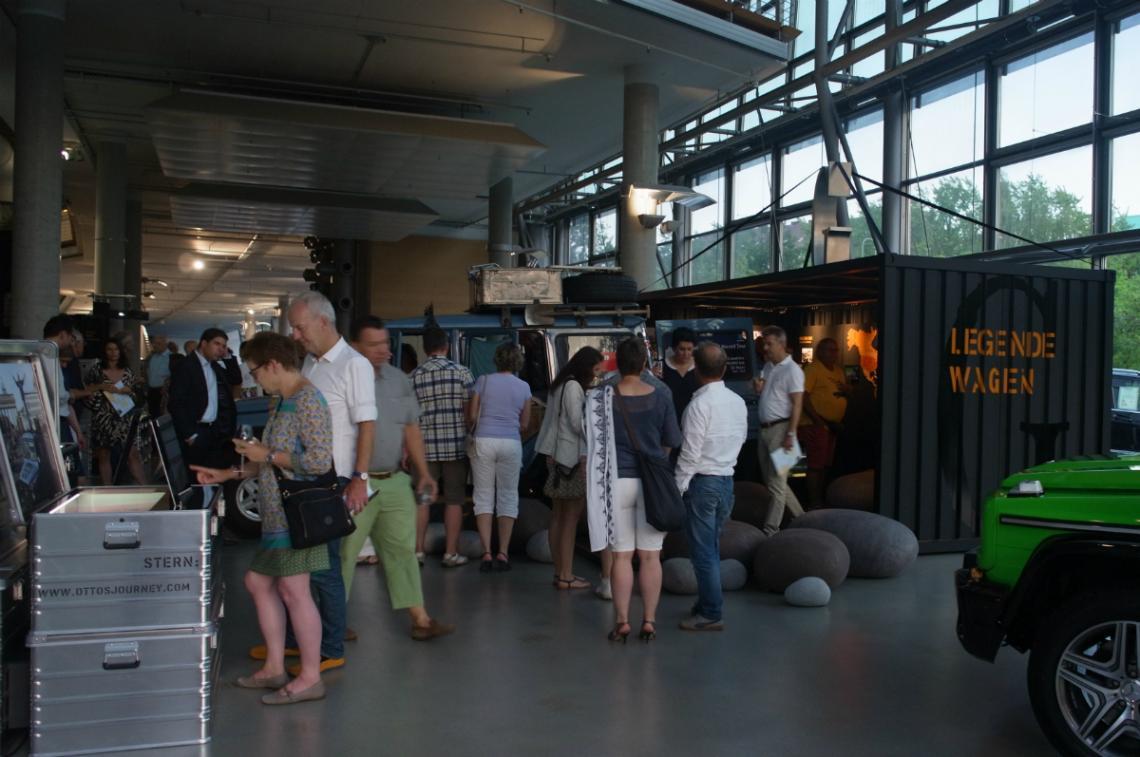 Übersee: Weltreise mit Faltcontainer