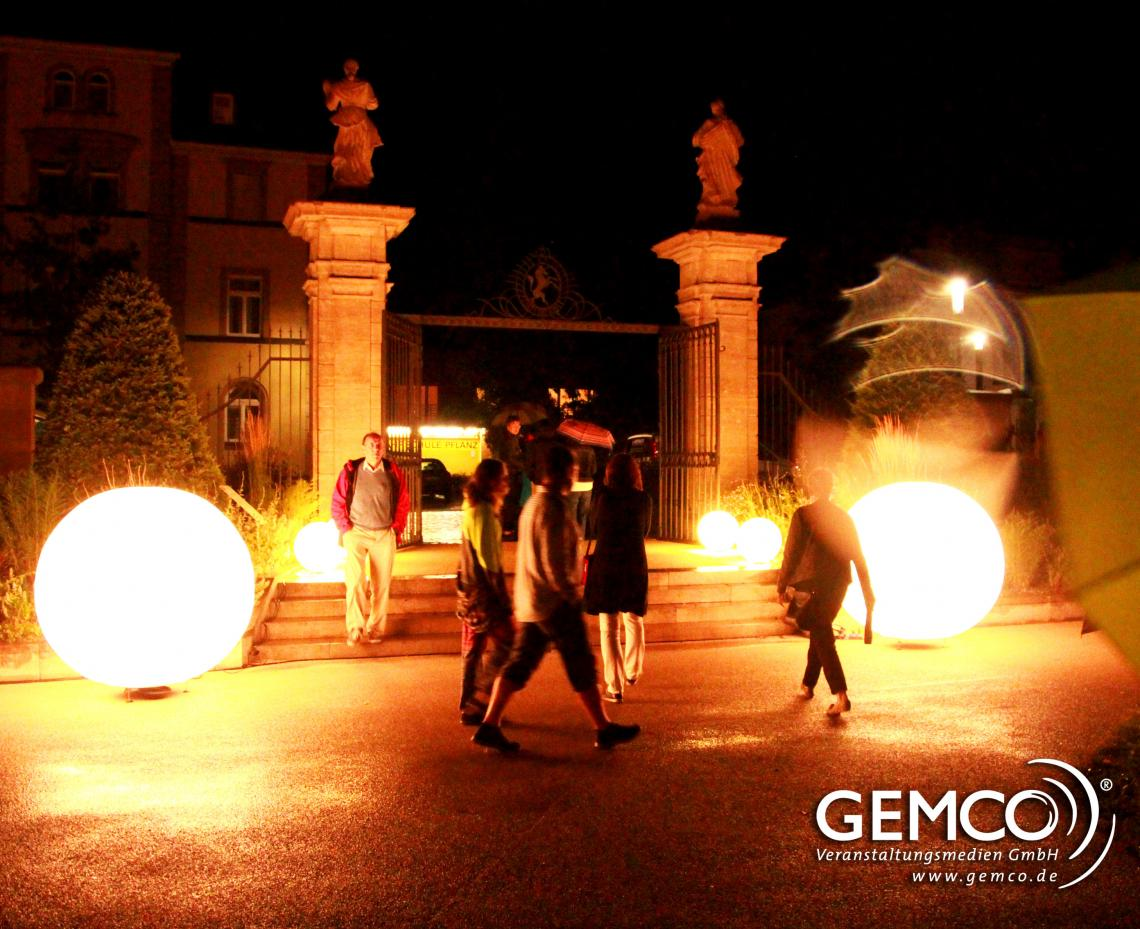 GEMCO beleuchtet den Remspark in Schwäbisch Gmünd