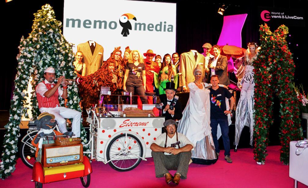 memo-media gestaltet Walk-Act-Programm auf der SuisseEmex 2015 mit Erfolg