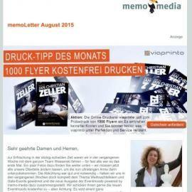 memoLetter 08.2015