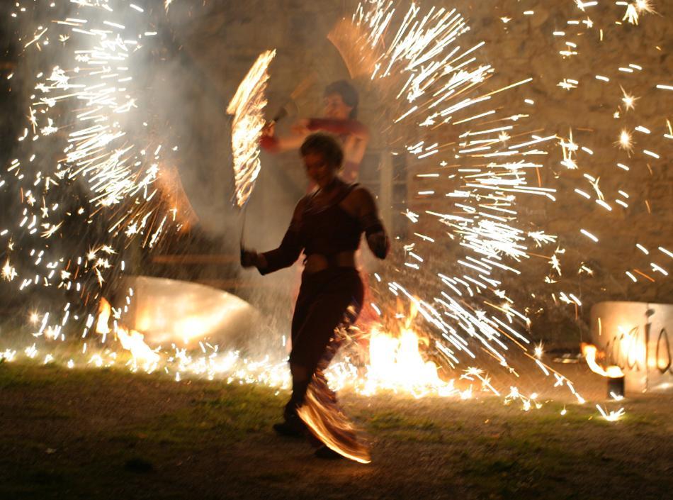 850 Jahre Griesheim: Feurige Inszenierung zum Jubiläum