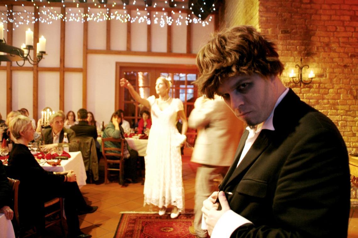 Die etwas andere Hochzeitsfeier…