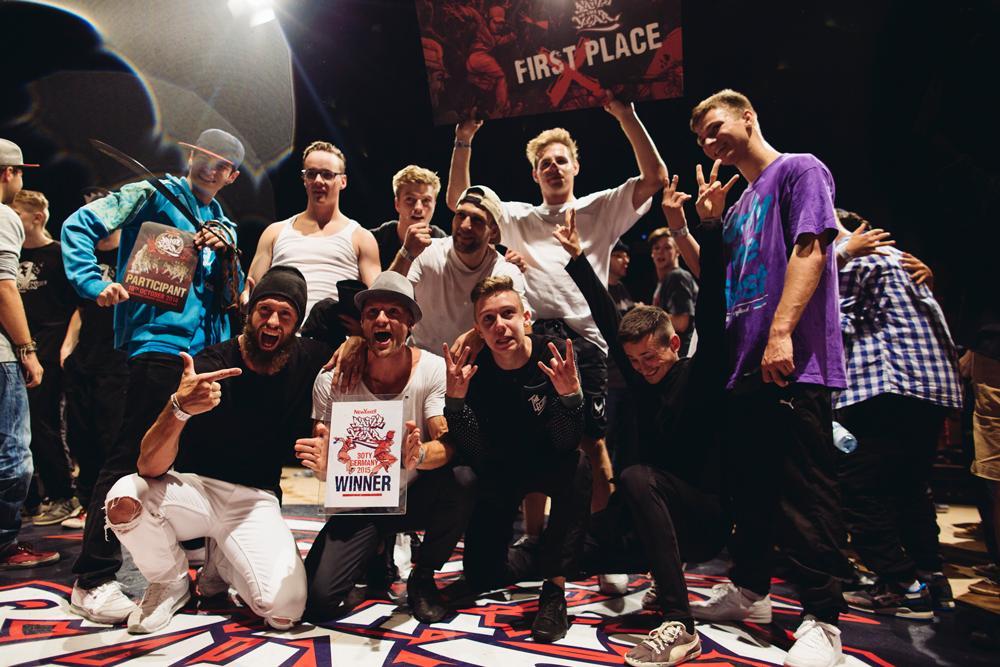 The Saxonz sind Deutschlands beste Breakdancer