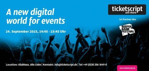Eine neue, digitale Welt für Events