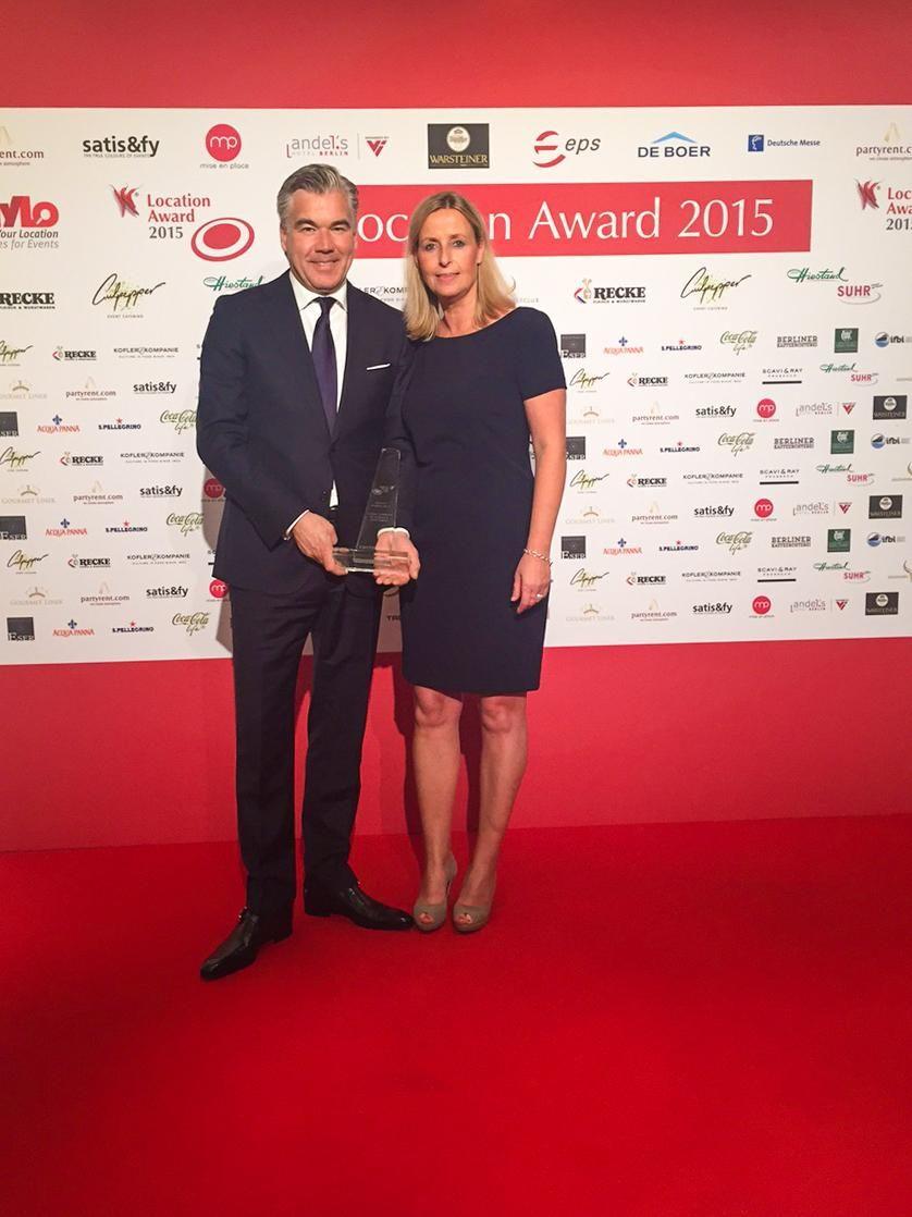 lemonpie Eventcatering mit der Alten Tuchfabrik beim Location Award 2015